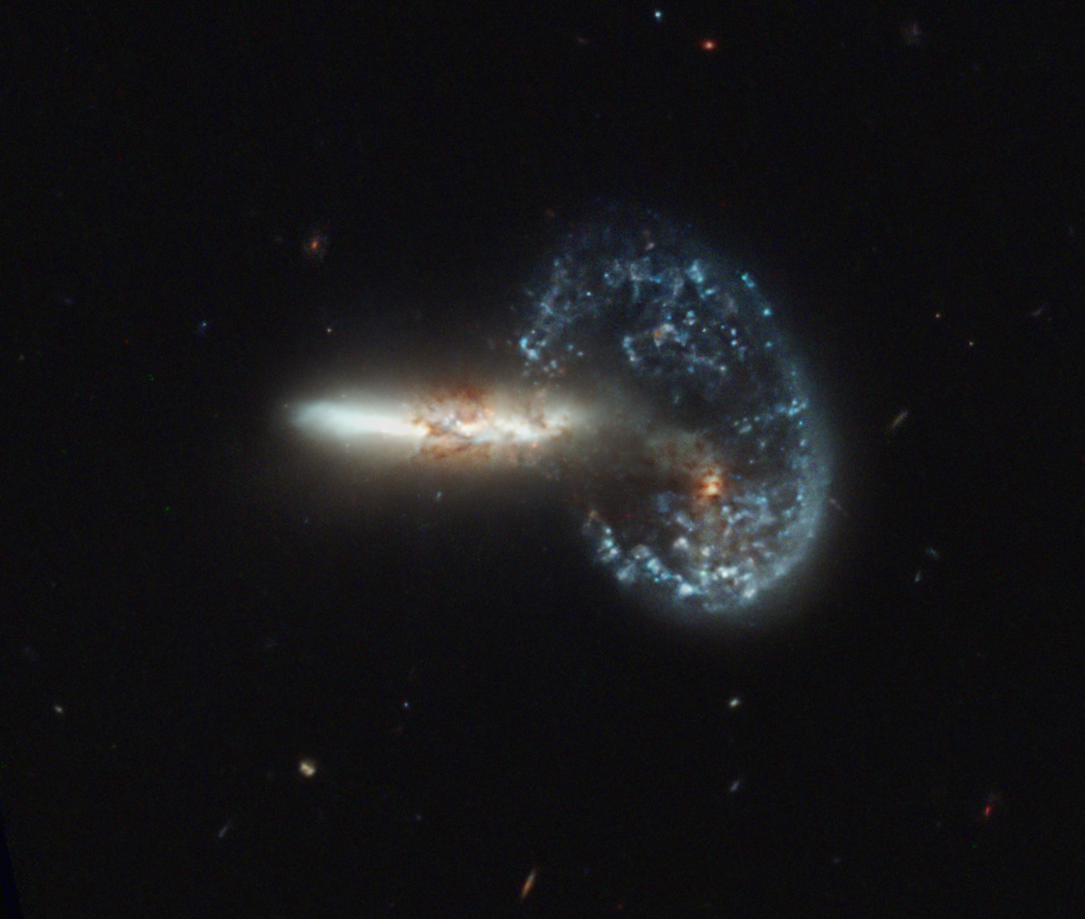 Arp 148 - Mayall's Object - Hubble Legacy Archive Image