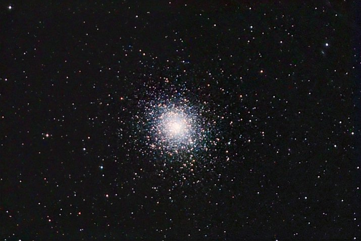 M5 Globular Cluster in the Constellation Serpens