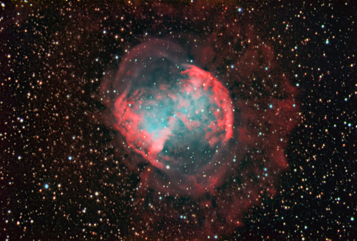 M27 The Dumbell Nebula