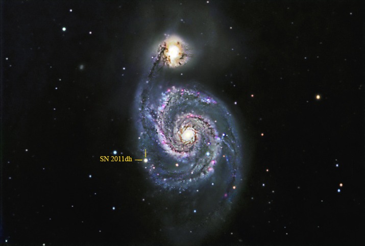 SN 2011dh in M51